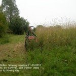 Andrew Collier Mowing 21-09-2013