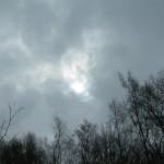 Winter Sun sky 23-03-2013