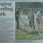Challenge Netwrok day Write up from Chorley Guardian 08-09-2013