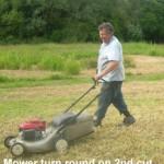 Mower Turn Round 14-06-2014