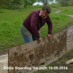 Eddie Boarding path 10-05-2014